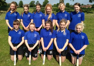 Year 10 Rounders - Amber Valley Champions - June 2015