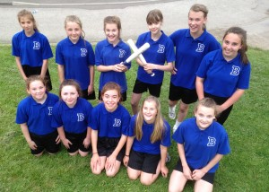 Yr7 Rounders - July 2015 - Amber Valley Runners-Up