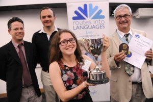 Routes into Languages - Spelling Bee @ ARU Cambridge 2015.