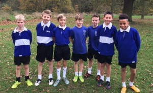 Under 12 Boys' Cross-Country - Nov 2015 - Amber Valley 3rd Place