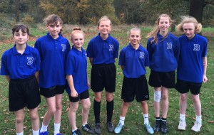 Under 12 Girls' Cross-Country - Nov 2015 - Amber Valley Runners-Up