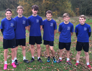 Under 14 Boys' Cross-Country - Nov 2015 - Amber Valley Champions