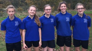 Under 14 Girls' Cross-Country - Amber Valley 3rd Place - Nov 2015