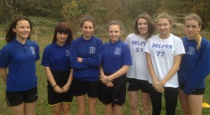 Under 16 Girls' Cross-Country - Nov 2015 - Amber Valley Runners-Up